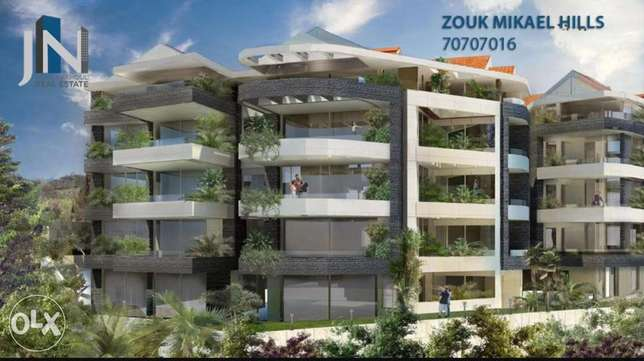 Great offer apartment for sale in zouk mikael el Korne with nice view
