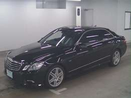 unused Mercedes 2010 KCJ/Y Benz e250 fully loaded AMG s