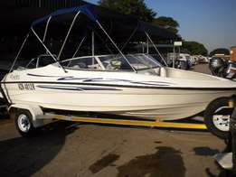 Ryder 555LX (SEPT 2016) with Yamaha 130HP(PT&T/Autolube) Motor