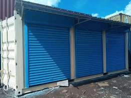 Roller shutter doors for sale and installation