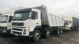 Volvo Twinsteer 18 Cube Tipper For Sale