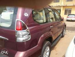 Toyota Landcruiser Prado Tx Diesel 2003 model for sale.