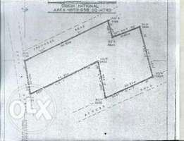 5 plots of land across Nigerian Airforce Base for sale