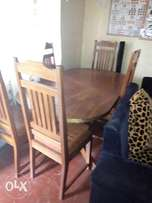 Six sitter dining set