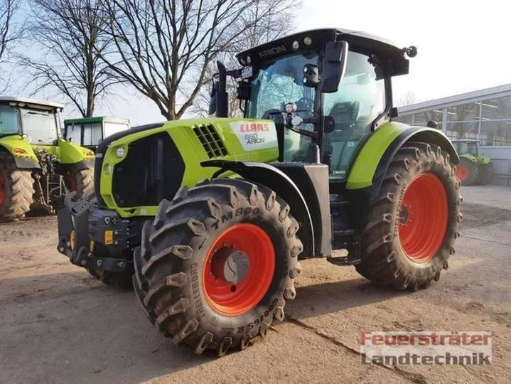 Claas arion 660 cmatic cebis - 2018
