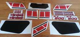 1983 Yamaha XT600 34L decals sticker kit