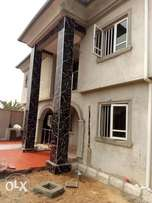 Lovely brand new 3Bedrm down/upstair at Irepo estate Igando To Let