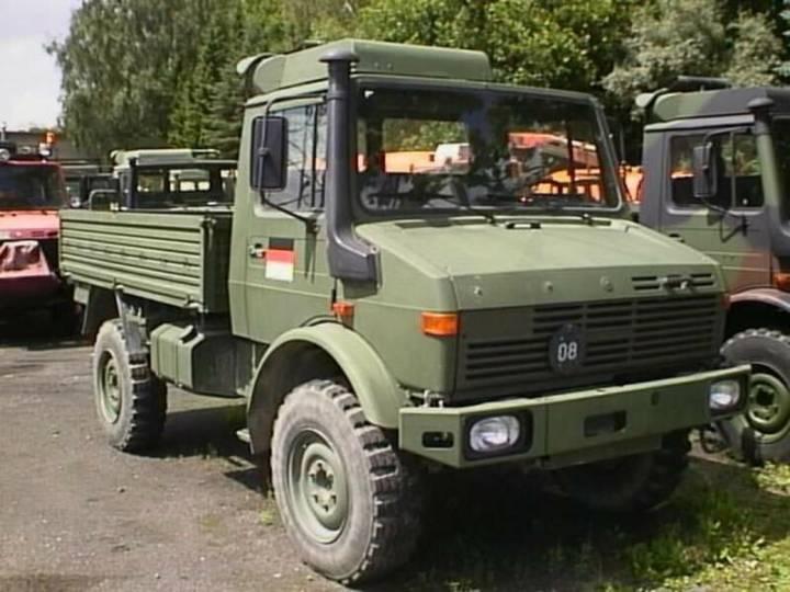Unimog U1300L ex BW - 1984