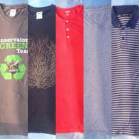 T-shirts and polo tops