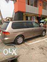 2 Months Used Honda Oddysey Space Bus Up 4Sale