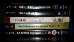 Playstation 3 games at R100 each