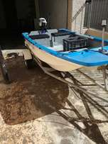 3m Boat with 3.5hp Yamaha engine FOR SALE