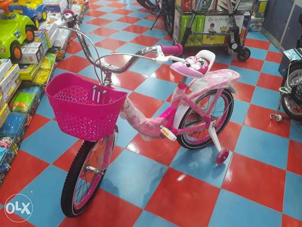 "18"" girls cycle good quality and colour available"