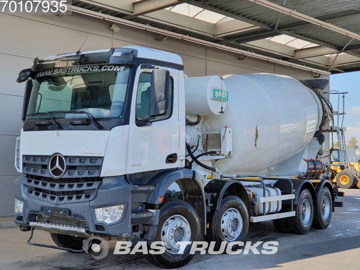Mercedes-Benz Arocs 4142 B 8X4 Big-Axle SteelSuspension 12m3 Euro 6 - 2016