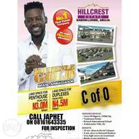 Land and property for sales in Abuja (with C of O)