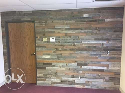 طبالي تلبس حيطان خشب wall Wood Pallet decoration