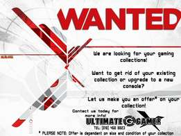 WANTED: Pre-Owned Games & Consoles