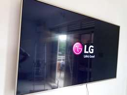 55 inches LG smart TV 4k