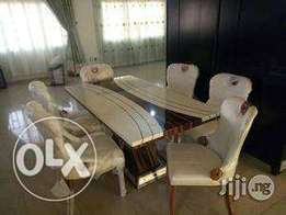 Executive Marble Dining Table