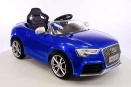 battery operated Audi RS5 ride on car