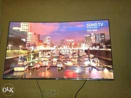 "Samsung 55"" Smart Hub 2016 SUHD 4K Quatum Dot Nano Crystal Display"