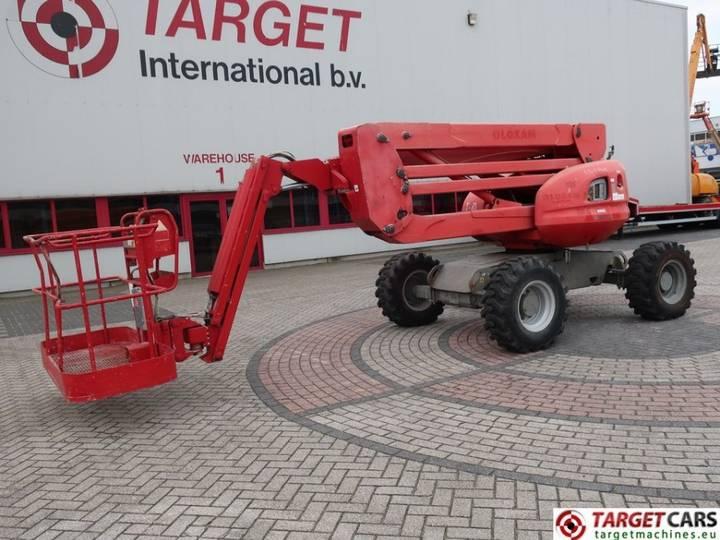 Manitou 160ATJ Articulated 4x4x4 Diesel Boom Lift 1625cm - 2007