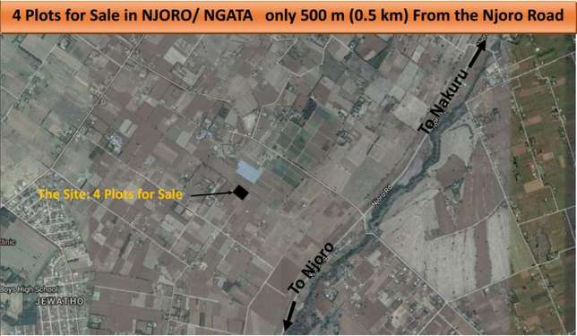 4 plots for sale Nakuru-Njoro road Nakuru East - image 4