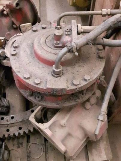Poclain swing motor for  75 excavator