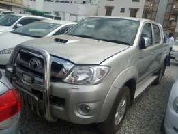 Toyota Hilux double cabin 2009