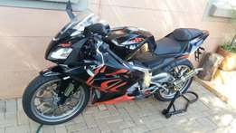 Aprillia rs125 Bike
