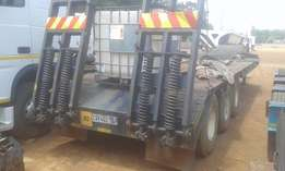 Triaxle step deck trailer for sale