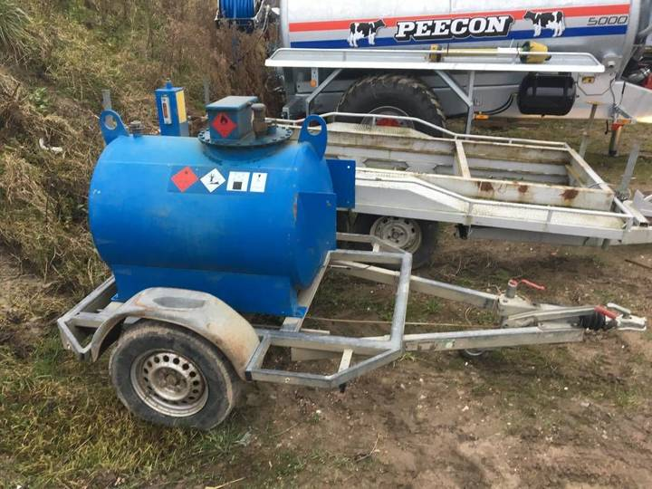 overigen dieseltank aanhanger fuel tank