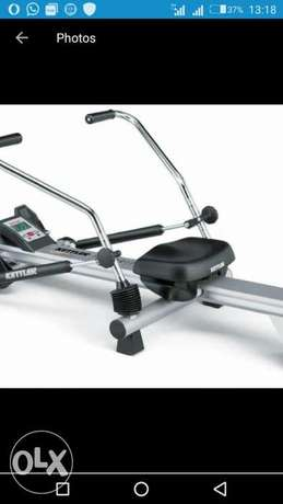 American Fitness small rowing machine Aba - image 1