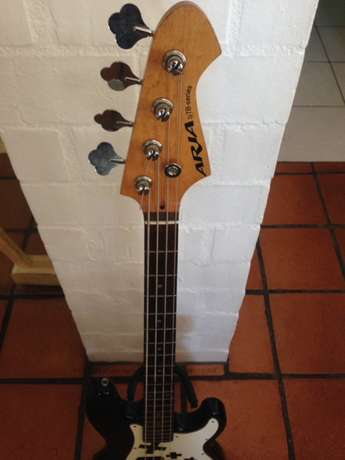 Epiphone Les Paul and Aria Bass for sale Somerset West - image 6
