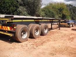 6m and 12m triaxle trailers available