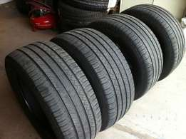 255/55/18 X4 Michelin (ML500).