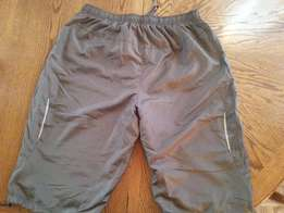 [New] Large Gray Men's Shorts for Sale