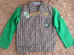 Кофта рубашка фирмы Puledro. Размер 7-8.( next Zara ) d97c77edf3eba