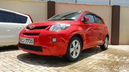 Toyota ist new shape red 1500cc