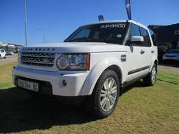2011 Land Rover Discovery4 3.0 TD/SD V6 HSE. White.FSH.
