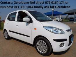 2010 Hyundai i10 1.2 gls Good Condition 66000kms Call Geraldene Now