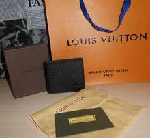 524079fbe264 Кошелек, портмоне, бумажник мужской Louis Vuitton, кожа, Франция 012