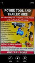 Tool and Trailer Hire
