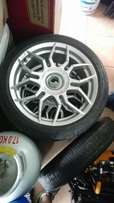 17 inch tsw R rims and tyres