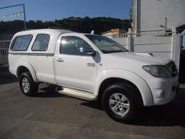 Toyota Hilux 3.0 D-4D Raised Body