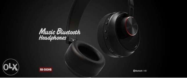 REMAX RB-500HB Bluetooth Headphone with Microphone