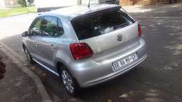 2012 vw polo 1.4 comfortline (silver) for sale