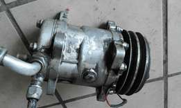 E12 BMW 520I aircon pump/compressor in good condition