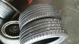 235/50 r18 x 2 Continental Tyres(85% tread)