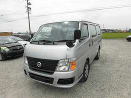 Nissan caravan long chassis diesel manual